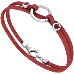 Montblanc Wrap Me Unisex Bracelet red
