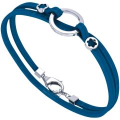 Montblanc Wrap Me Unisex Bracelet blue