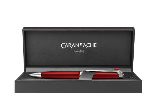 Caran d'Ache Leman Rouge Carmin Kugelschreiber