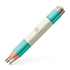Graf von Faber-Castell perfekte Bleistifte türkis