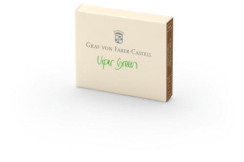 Graf von Faber-Castell Tintenpatronen viper green