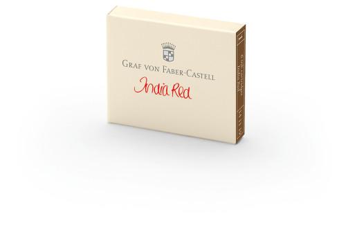 Graf von Faber-Castell Tintenpatronen india red