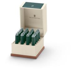 Graf von Faber-Castell Etui mit Tintenpatronen deepsea green