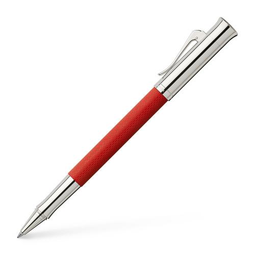 Graf von Faber-Castell Guilloche India Red Roller