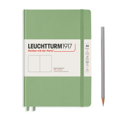 Leuchtturm medium hard salbei blanko