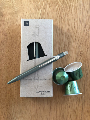 Caran d'Ache Nespresso 2 Kugelschreiber