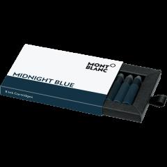 Montblanc Tintenpatronen Midnight Blue