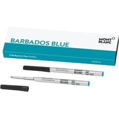 Montblanc Kugelschreibermine barbados blue