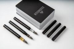 Schon pocket 6 fountain pen black
