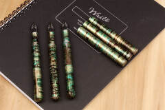 Schon pocket 6 fountain pen malachite