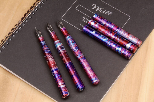 Schon pocket 6 fountain pen space candy2