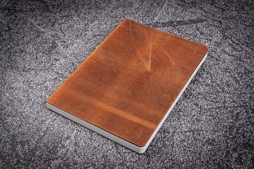 Notizbuch A5 Leder braun