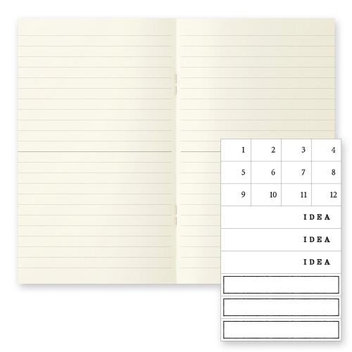 MD Paper Notebook b6 3er Set liniert