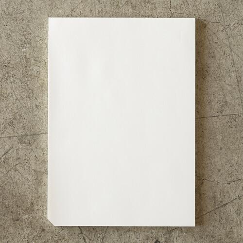 MD PAPER Notizbuch Cotton A4 blanco