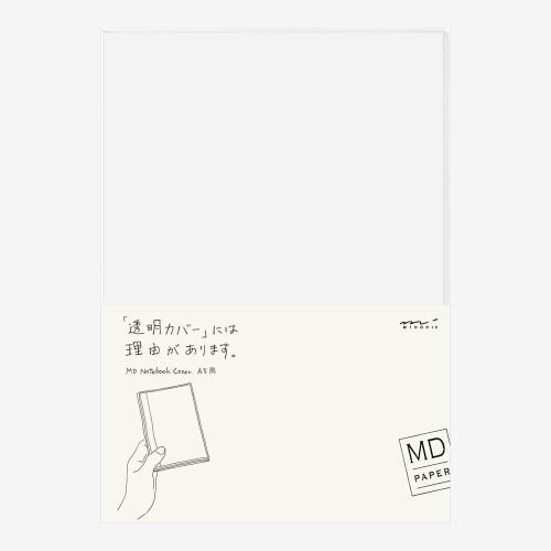 MD Paper Notebook Einband transparent A5