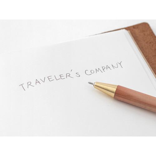 TRC Brass Taschenkugelschreiber