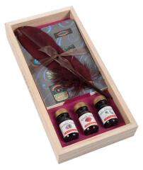 Herbin Holzbox Gänsefeder