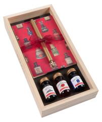 Herbin Holzbox Federhalter