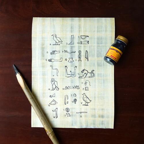 Herbin Kalligraphie-Set Ägypten