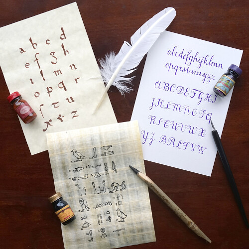 Herbin Kalligraphie-Set Mittelalter