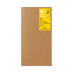Travelers Notebook liniert 001
