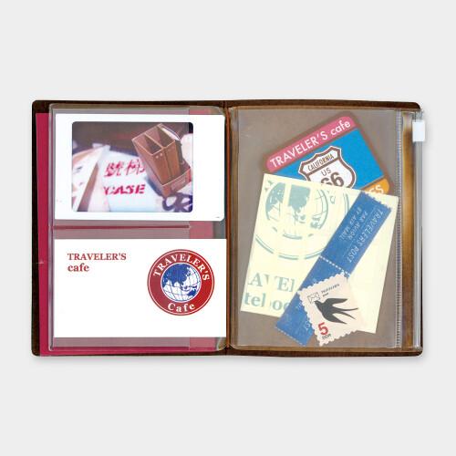 Travelers Notebook Passport Size Zipper Pocket 004