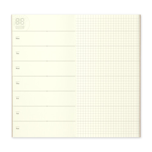 Travelers Notebook Free Diary weekly and notes 019