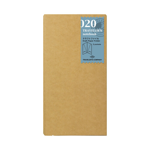 Traveler's Notebook Packpapier Mappe 020