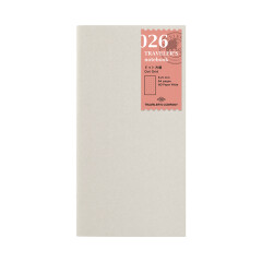 Travelers Notebook Refill dotted 026