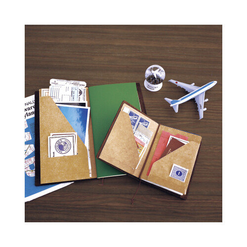 Travelers Notebook Passport Size Packpapier Mappe 010