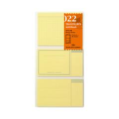 Travelers Notebook Haftnotizen 022