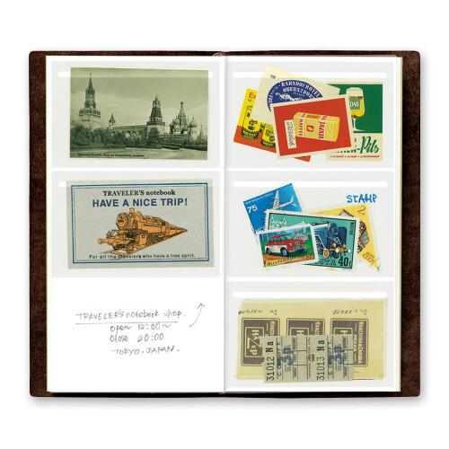 Travelers Notebook selbstklebende Taschen 023