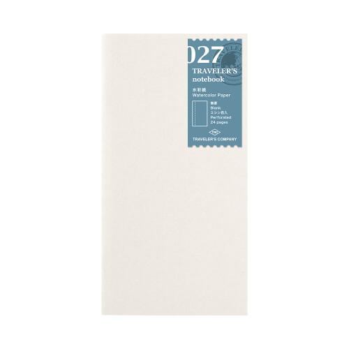 Travelers Refill Aquarellpapier 027