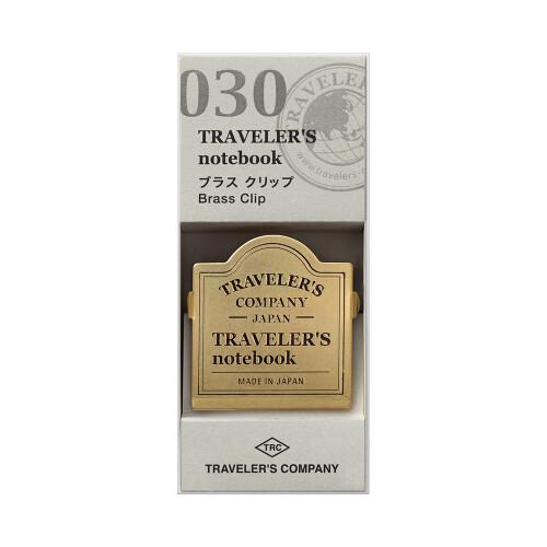 Traveler's Notebook Brass Clip