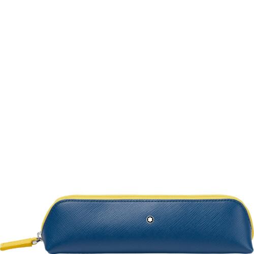 Montblanc Beuteletui blau gelb