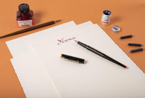 Schreib-Set Büttenpapier