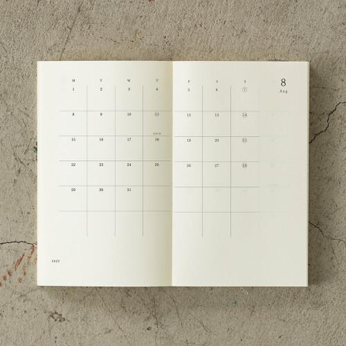Midori MD Notebook Diary B6 Slim