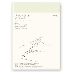 Midori MD Diary 2022 A5 1 Tag pro Seite