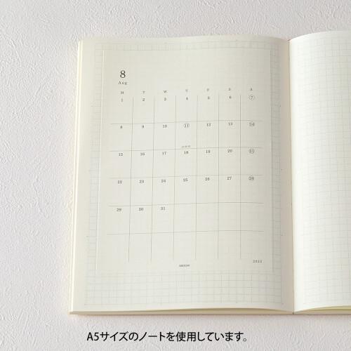 Midori MD Diary Stickers M 2022