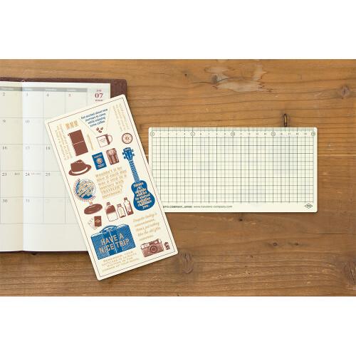Travelers Notebook Plastikeinlage