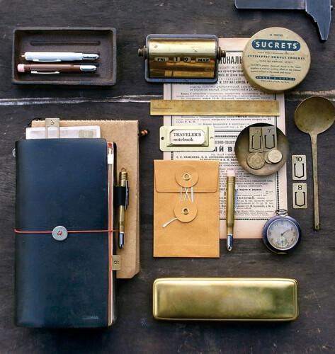 Beispiel Traveler's Notebook