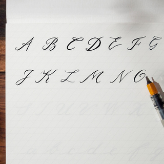 Kalligraphie Uebungsbuch